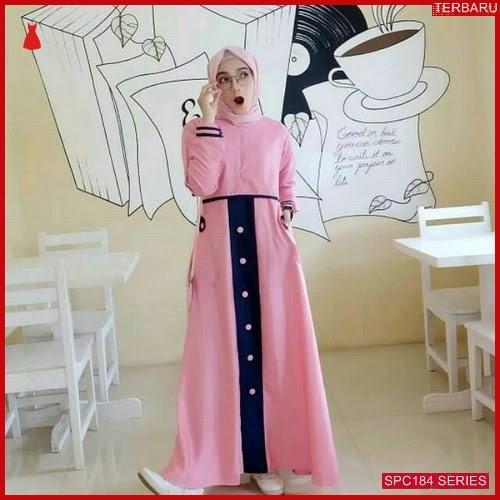 SPC184S41 Samantha Maxy Muslim Gamis Dress Muslim Wanita | BMGShop