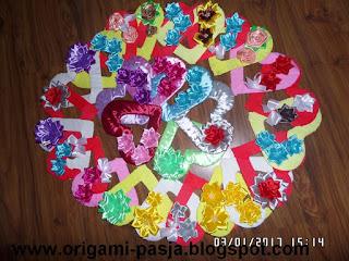 Dzień babci i dziadka, dzień matki, dzień kobiet, walentynki, prezent, serce, krepa włoska, rękodzieło, handmade, życzenia, wiersz, różowe, czerwone, żólte, niebieskie, zielone, szare, bordowe, turkusowe