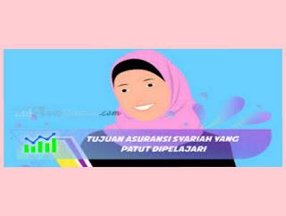 prinsip dan tujuan asuransi syariah