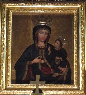 Obraz Matki Bożej w Rychwałdzie