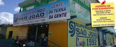 SUPERMERCADO SÃO JOÃO.
