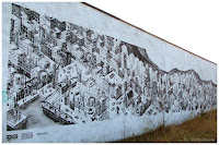 M-CITY Mariusz Waras - mural Gdynia
