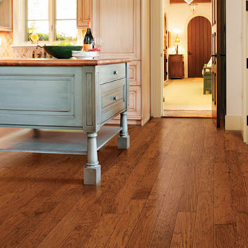 Different wood treatments let the natural grains shine through in your hardwood floor