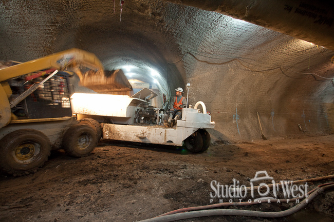 Wine Cave Construction Photographer - Paso Robles Winery Photography - Studio 101 West Photography