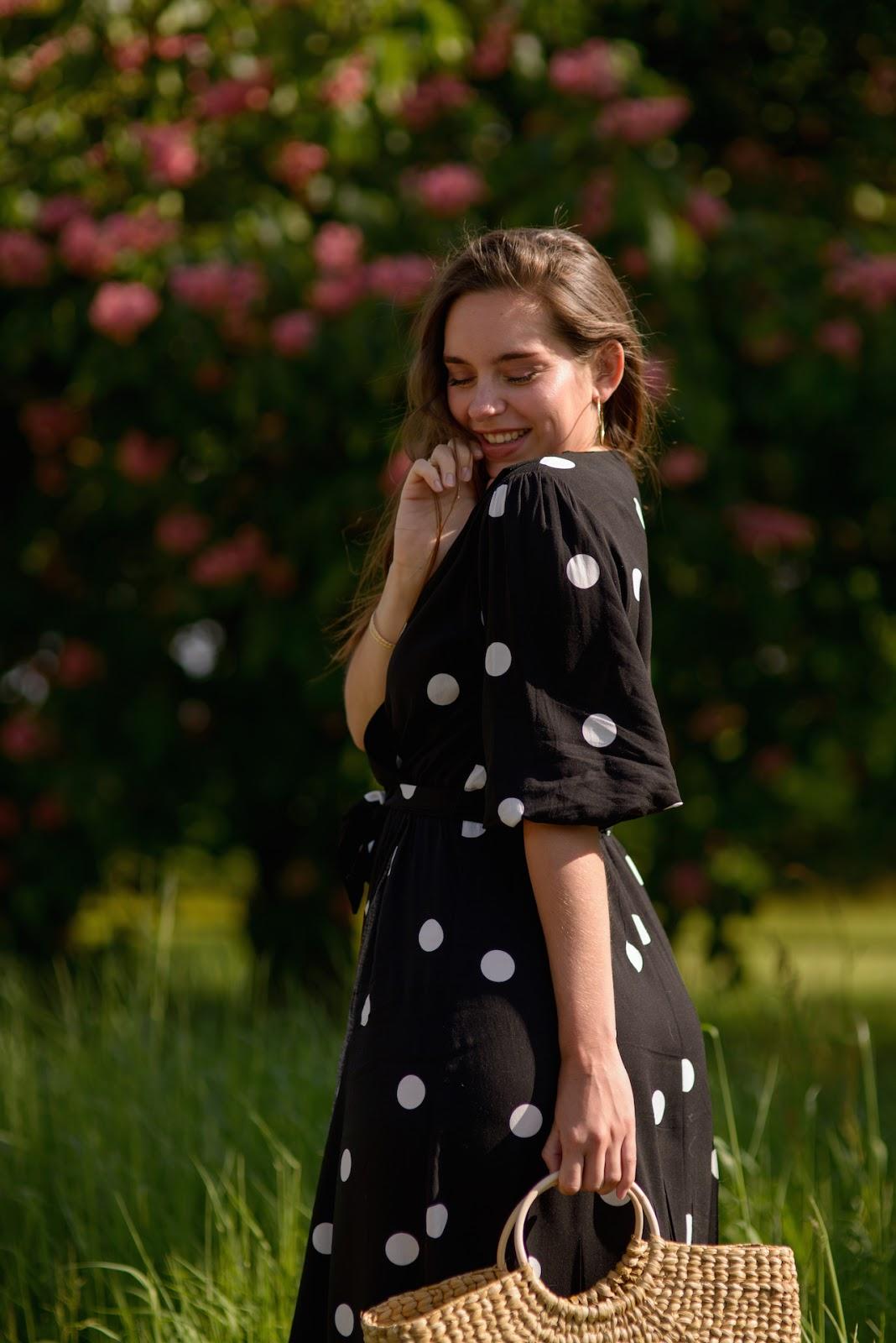 robe longue pois moyen oysho 11