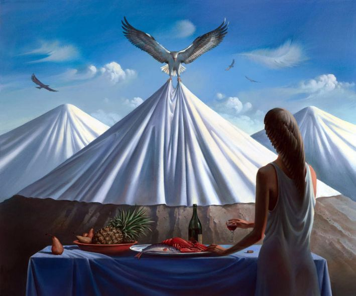 Convite Para o Almoço - Vladimir Kush