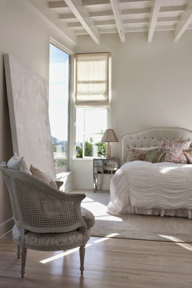 50 bedroom ideas - design in the shabby chic look