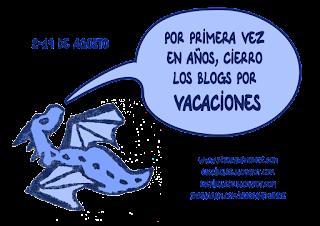 por primera vez en años, cierro los blogs por vacaciones