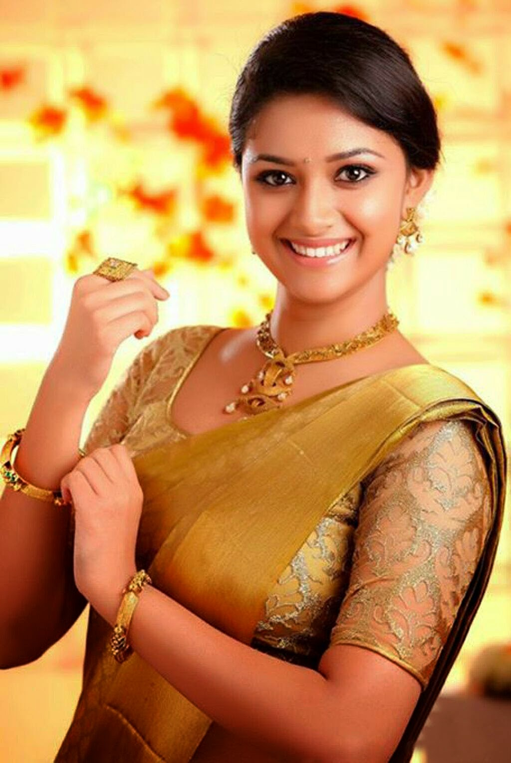South Beautiful Keerthi Sureshmenaka Daughteractress -7436