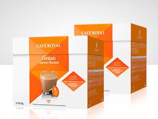 Cafe capsulas Royal cortado para Dolce Gusto