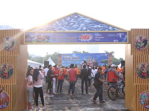 Pesona Jawa Barat di CFD Jakarta