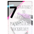 7 Strategies to Jump Start Mathematical Vocabulary