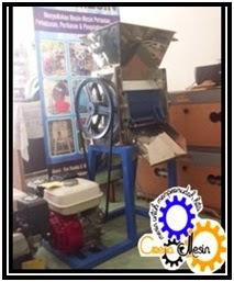 mesin pengupas buah kopi basah
