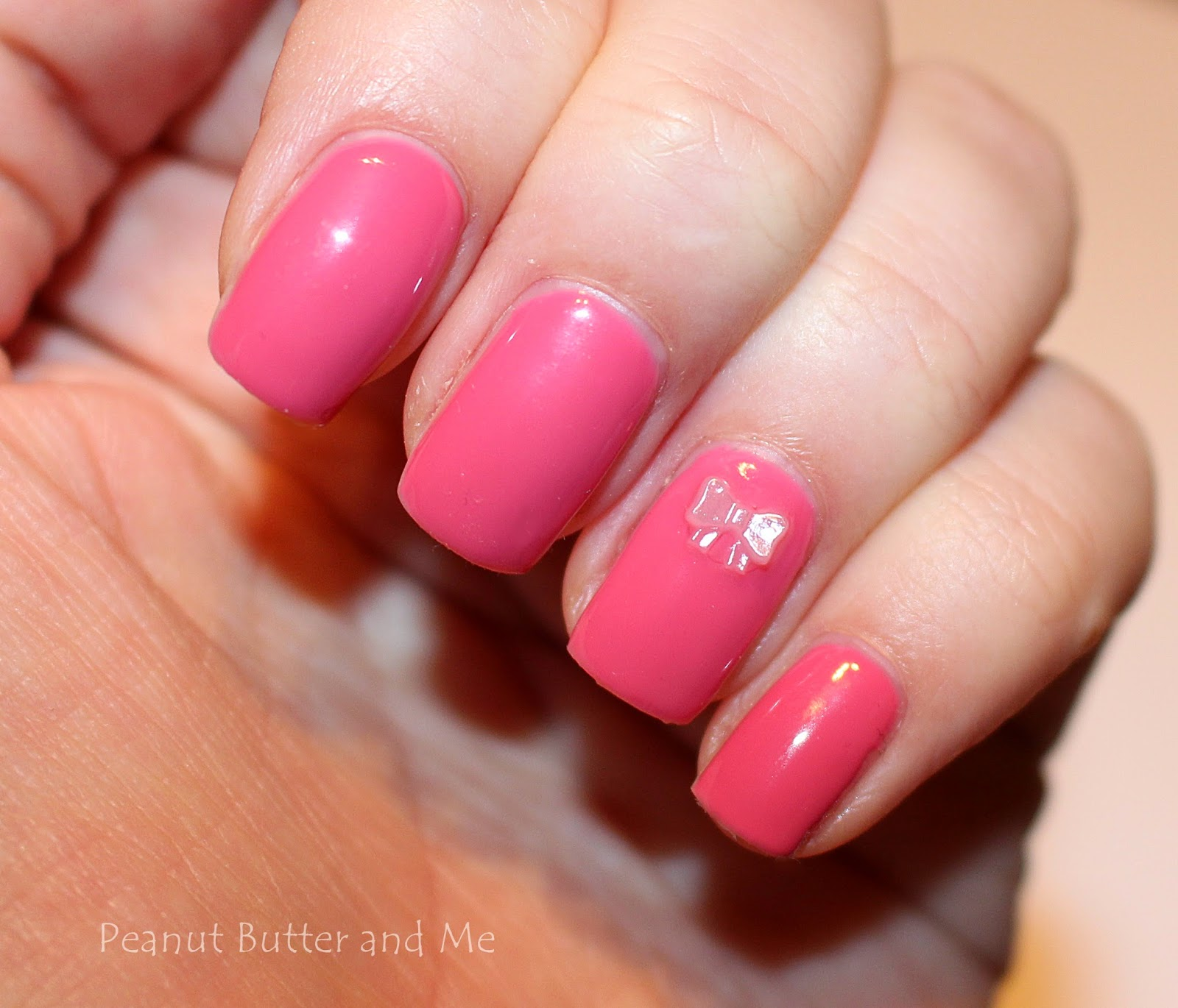 Semilac 064 Pink Rose gel nails hybrydy polish nails pink classic pretty instagram cute love