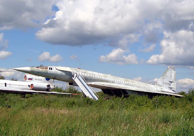 ТУ-144 Учебный аэродром Самарского университета