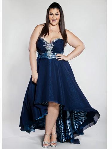 Vestidos de fiesta para gorditas 2015 fotos