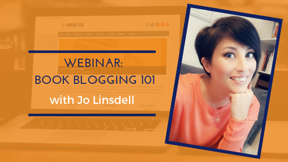 Book Blogging 101 with Jo Linsdell