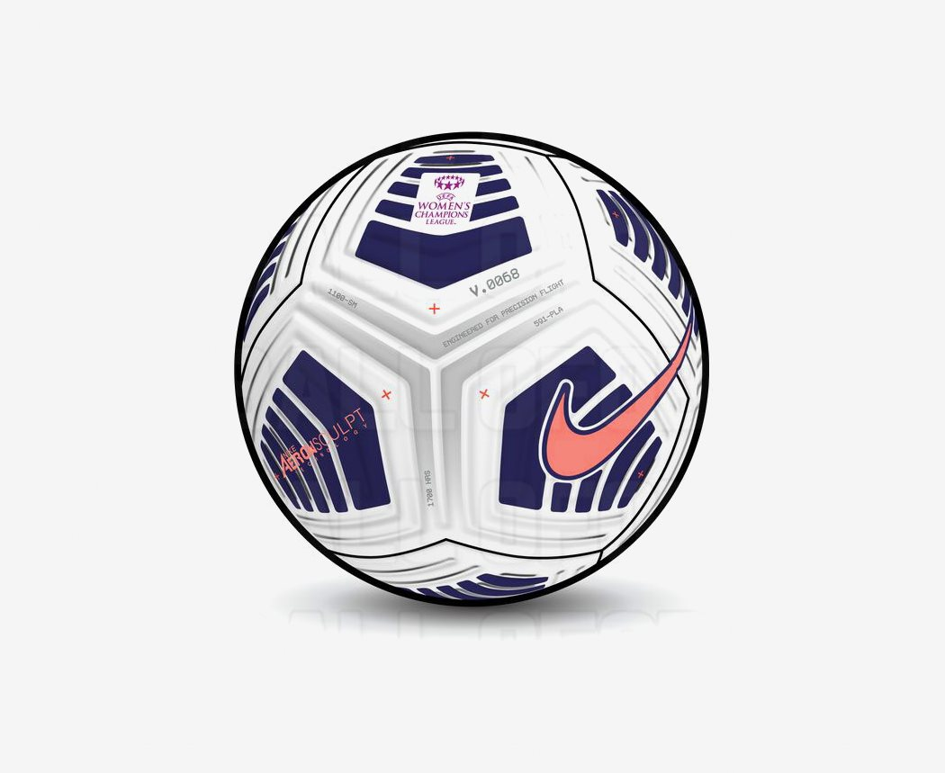 Nike UEFA Women's Champions League 2021 Ball Leaked ...