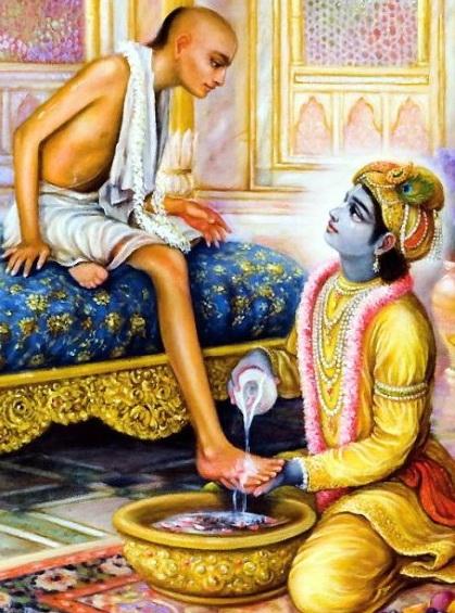 Krishna and Sudama Friendship Story   Hindu Devotional Blog