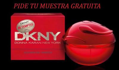 MUESTRA GRATIS PERFUME DKNY