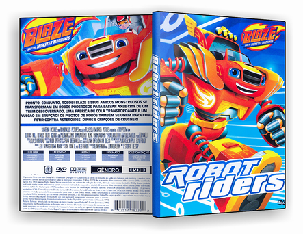 CAPA DVD – Blaze Robot Riders – ISO