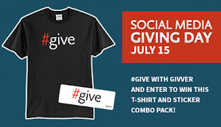 Enter to win an Official Social Media Giving Day Prize Pack {US, 18+, 7/20}