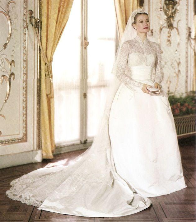 13d67de952be VARIE  Gli abiti da sposa delle dive di Hollywood - Blog frivolo per ...