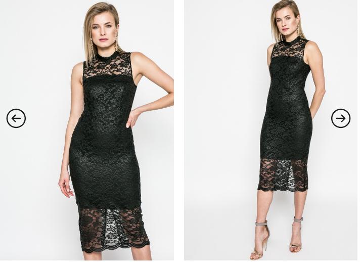 Kiss my dress - Rochie superba eleganta neagra de seara si de ocazii