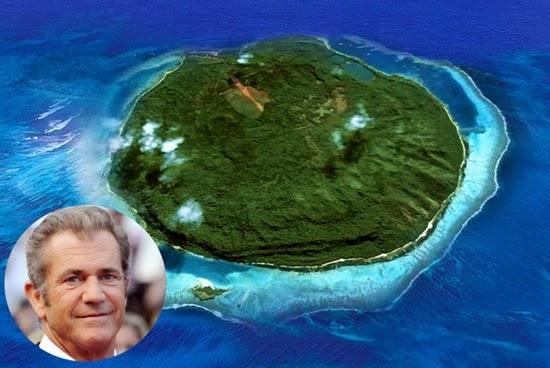 mel gibson : selebriti yang memiliki pulau pribadi