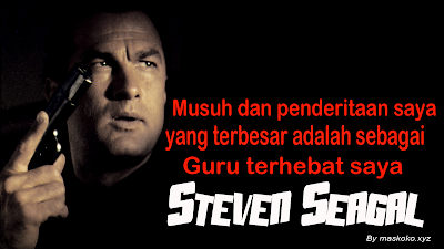 Profil Biodata Filosofi hidup Steven Seagal