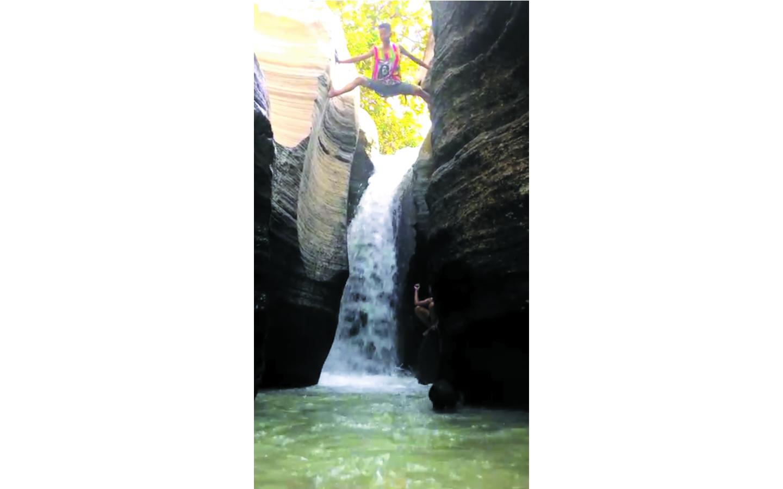 Rute Air Terjun Luweng Sampang Gunungkidul