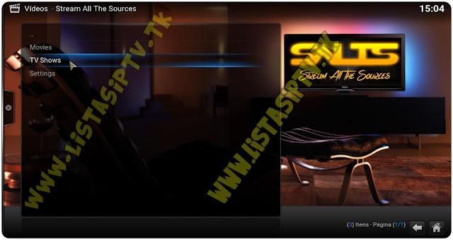 Add-on - SALTS - KODI - Filmes e Séries de Vários Fontes
