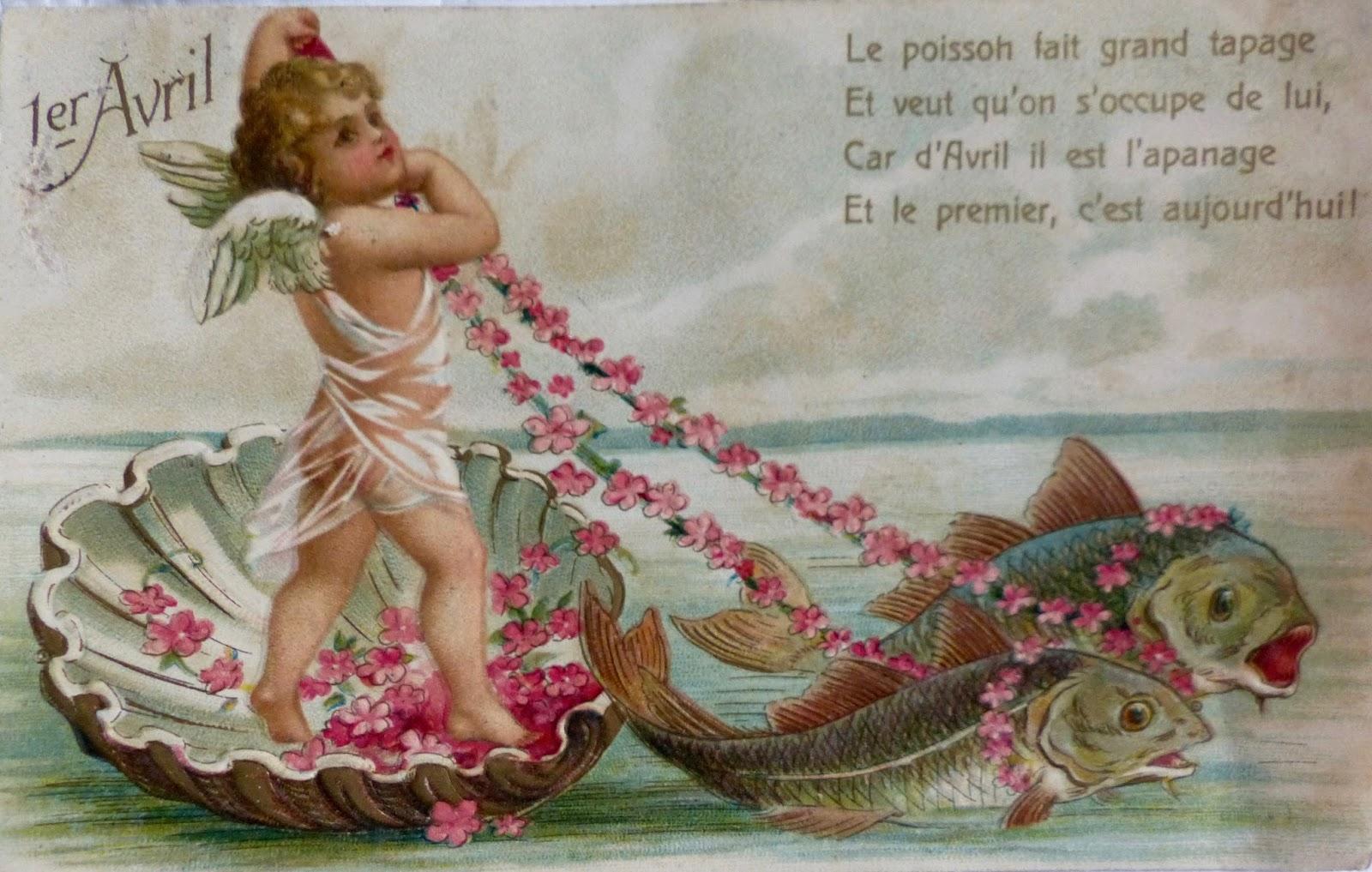 Le retour chez canelle poisson d 39 avril - Poisson d avril images gratuites ...