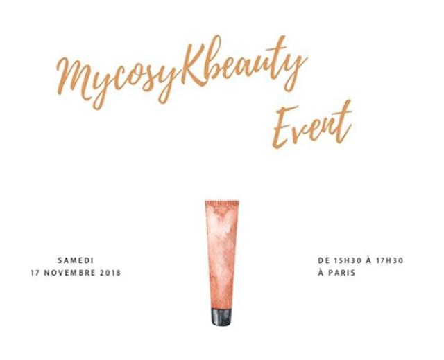 (EVENT) My Cosy K-Beauty Event : un nouvel événement pour la K-beauty !