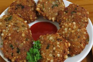 Sabudana vada  | Crispy Sago Pattie Recipe | Fast Snack | foddiescorner