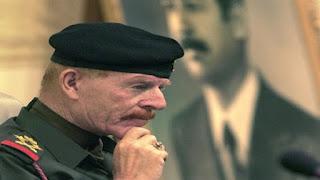 Azza al-Douri The former Iraqi Vice President Saddam Hussein dead