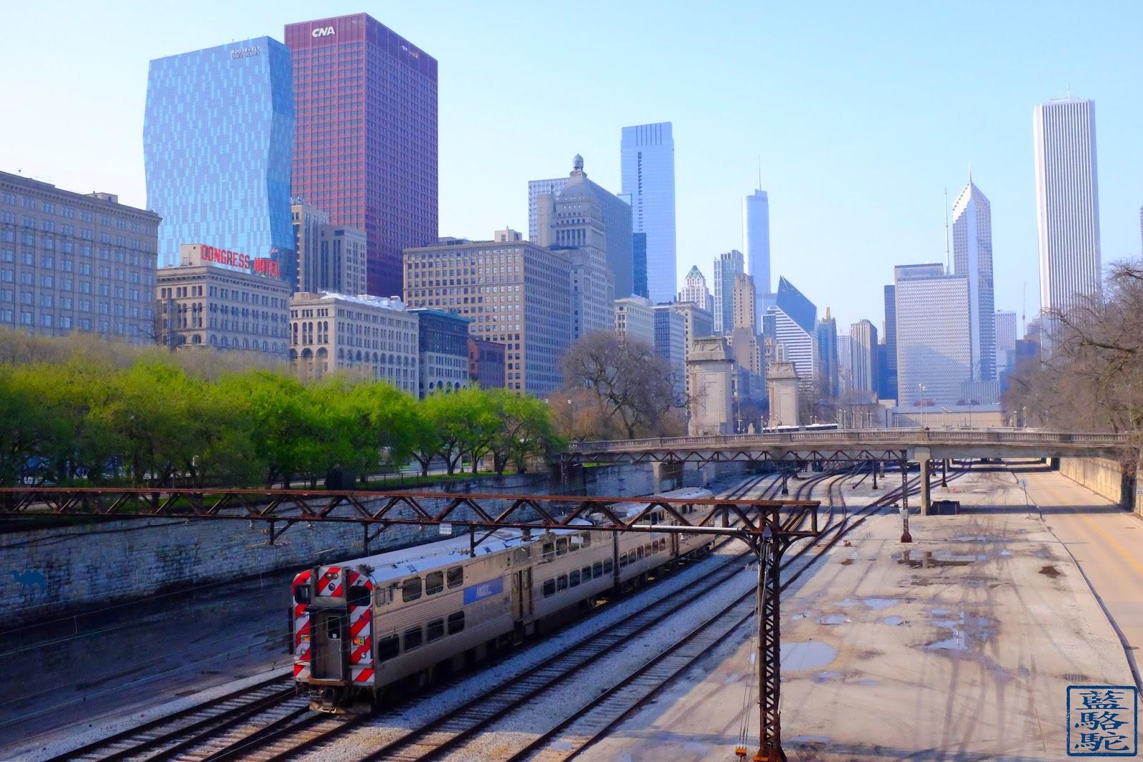 Le Chameau Bleu - Blog Voyage Chicago USA -  Chicago et ses trains - Voyage à Chicago Illinois USA