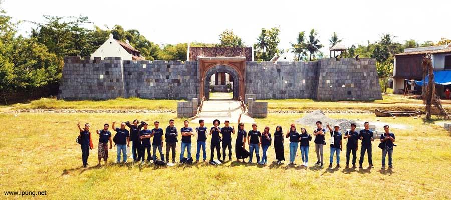 Berkeliling Sambil Belajar Sejarah di Studio Alam Film Sultan Agung, Desa Wisata Gamplong, Sleman, Yogyakarta