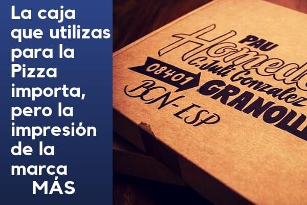 cajas para pizzas baratas y personalizadas