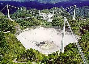 Il radiotelescopio di Arecibo