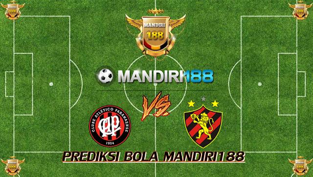 AGEN BOLA - Prediksi Atletico Paranaense vs Sport Club do Recife 23 Oktober 2017