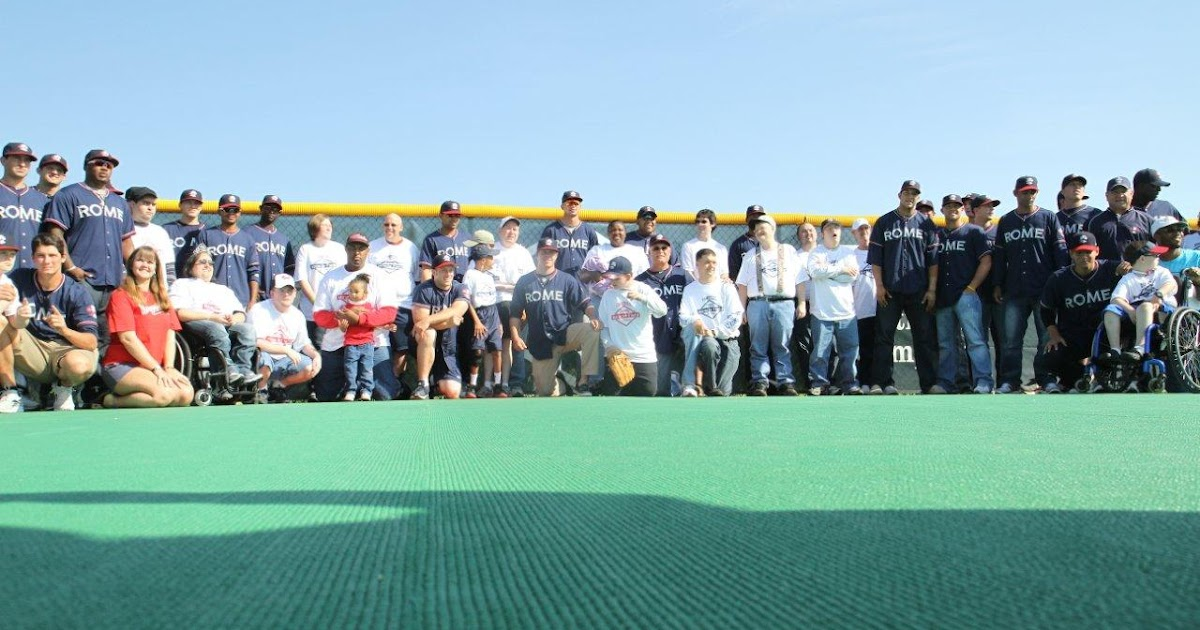 Hometown Mobile: Rome Braves Miracle Field Ribbon Cutting ...
