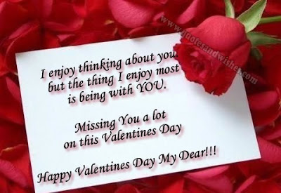 Valentine's Day Card Messages When Sending Flowers