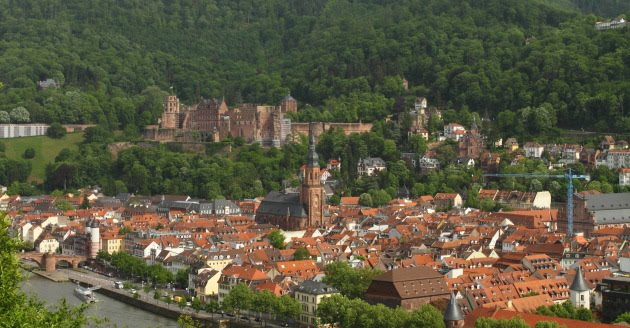 Fairytale Heidelberg view