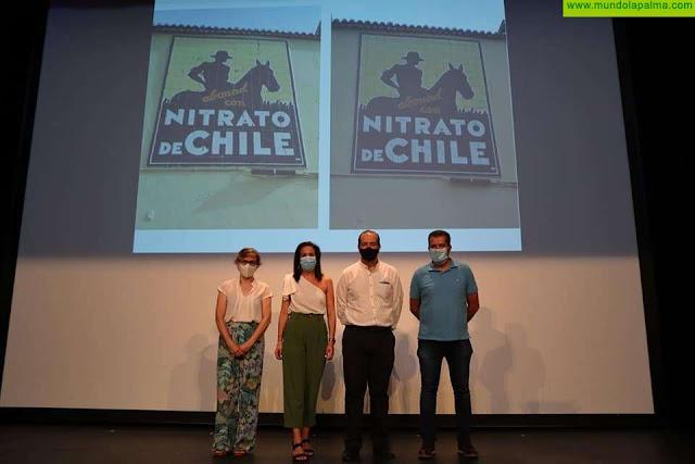 Presentado oficialmente el mural restaurado de Nitrato de Chile