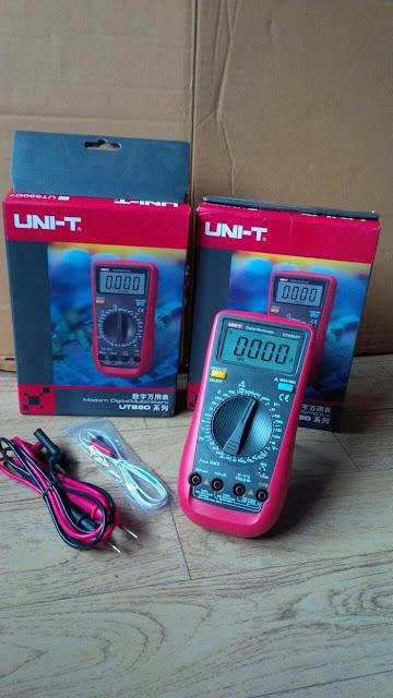 JUAL MULTIMETER DIGITAL UNI-T UT890