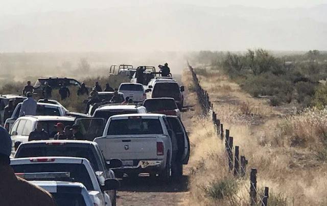 """VIDEO, """"Culeros ilegales, lárguense de aquí"""" """"Les vamos a dar con todo"""": Barzonistas"""