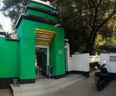 Gapura menuju Makam Ki Ageng Bungkul.