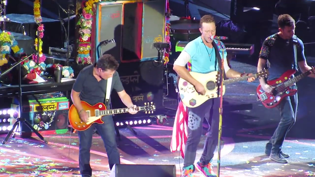 Michael J Fox Johnny B. Goode Coldplay Chuck Berry