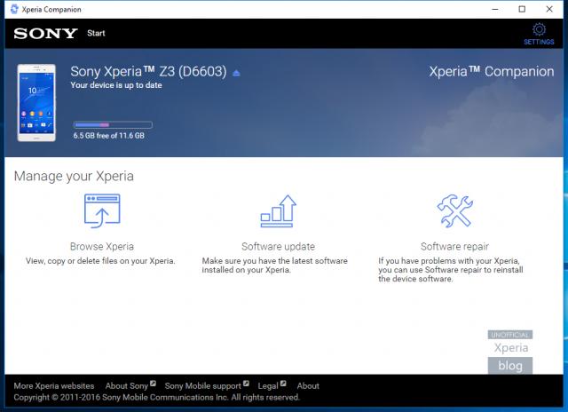 Sony Xperia Companion